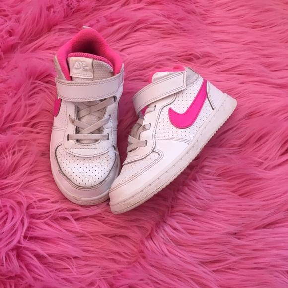 Toddler girls- high top Nike sneakers